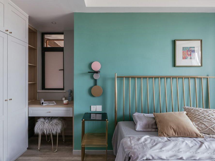 """厨房""""凿壁借光"""",卧室巧用空间,看廊坊夫妻玩转89㎡小屋"""