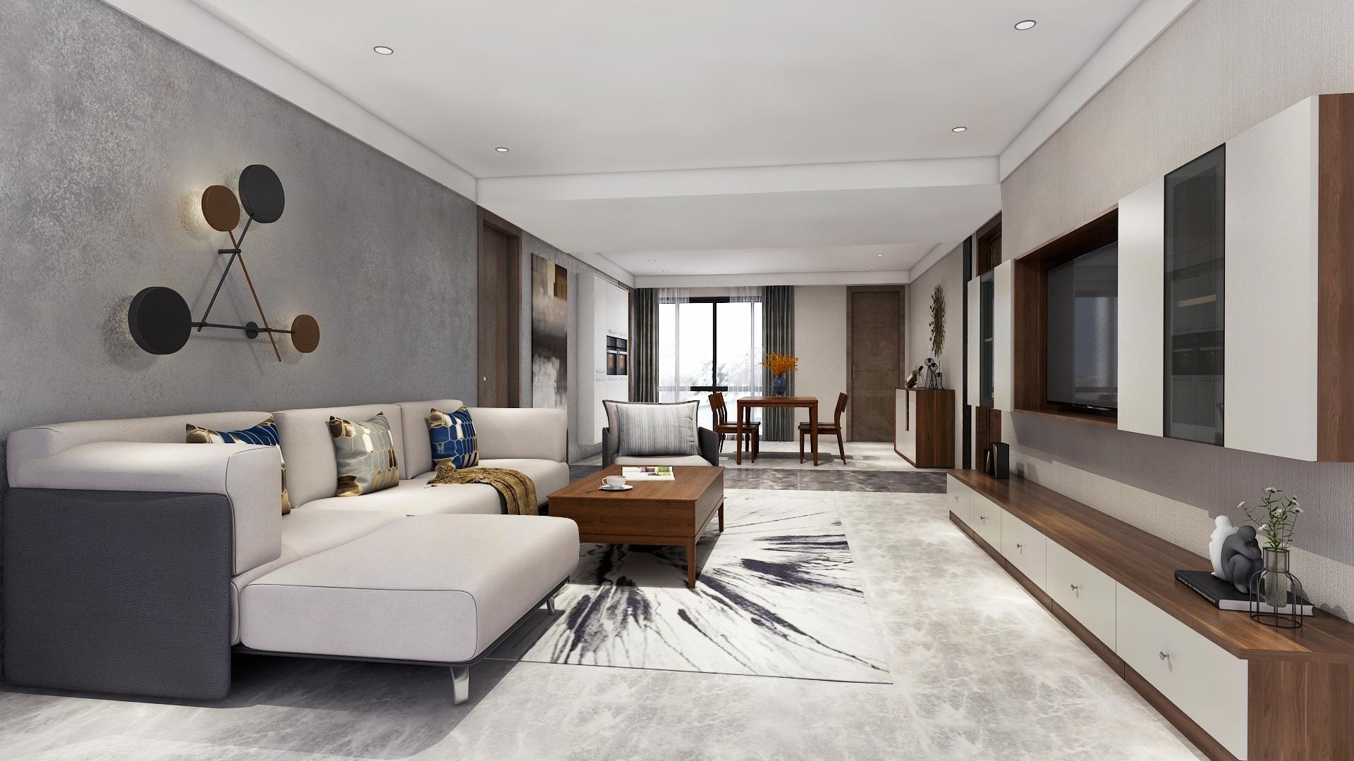 135㎡新中式美宅,古风韵味+现代简约,我全都要!
