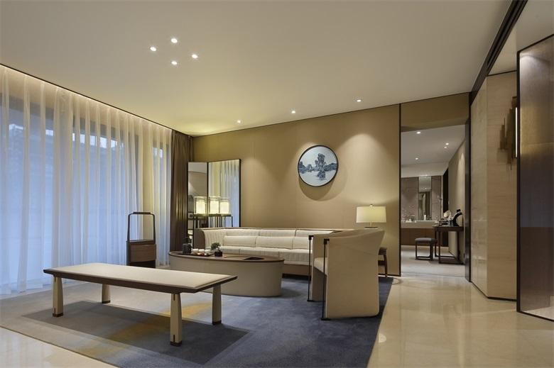 如何摆脱老气塑造禅意,上海家庭中式装修照明设计解析