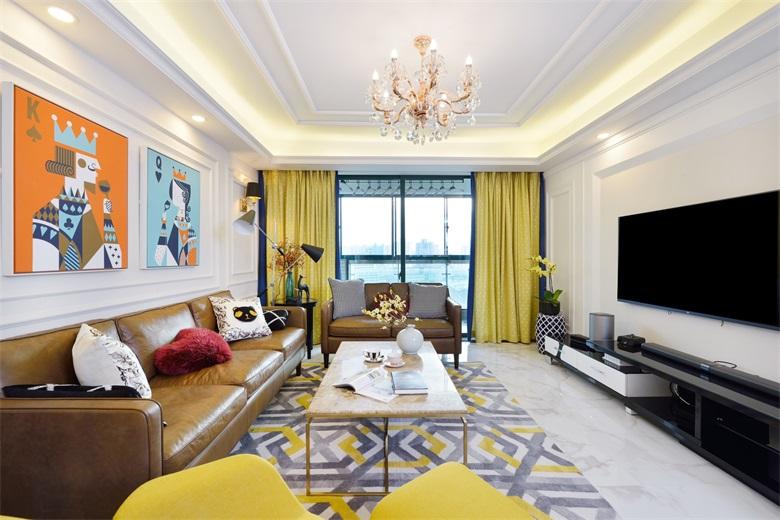 空间缺陷配色技巧,深圳装修装潢常用方法分享