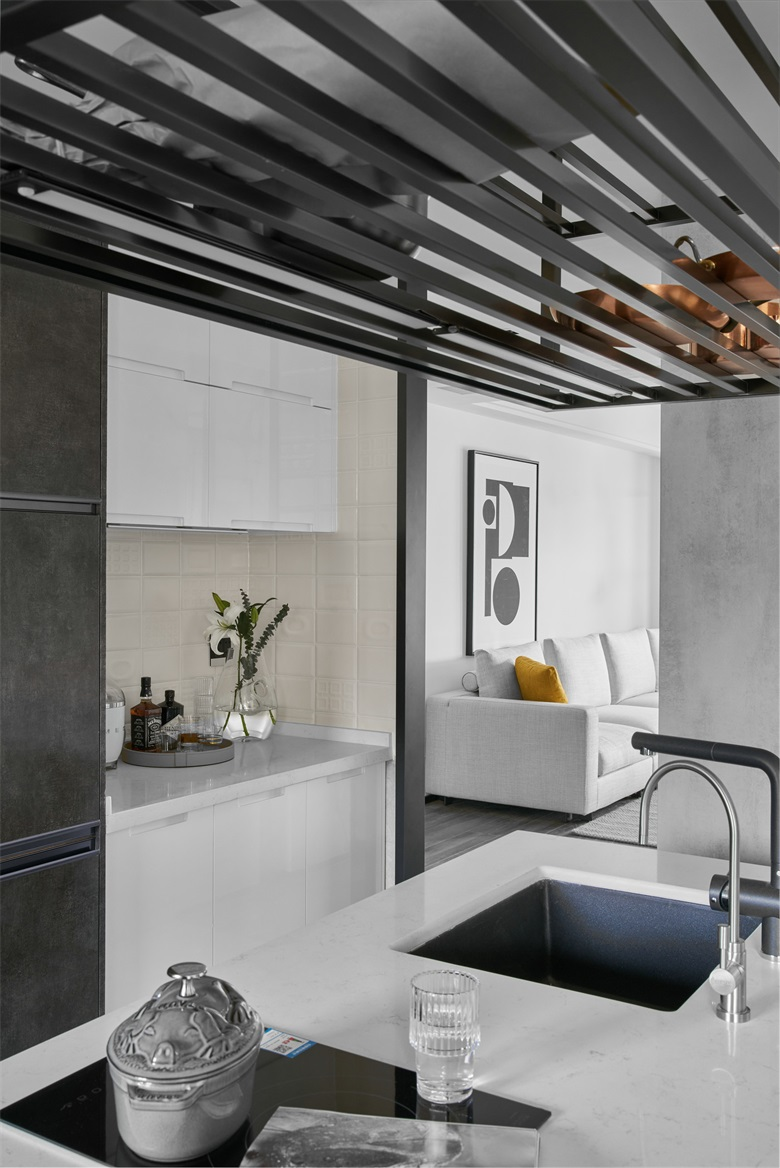 上海裝修裝潢廚房有技巧,學會這三招廚房大變身