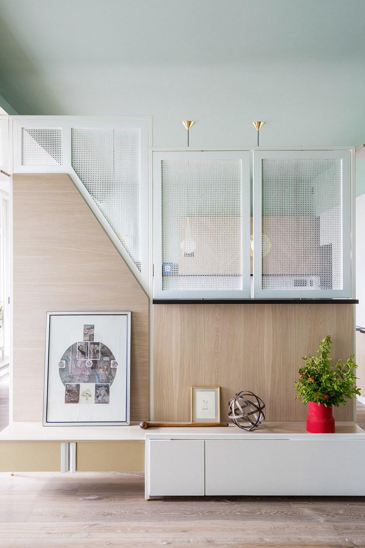 二孩家庭住得爽,客厅软隔断一厅变两厅,108㎡扩容标杆!