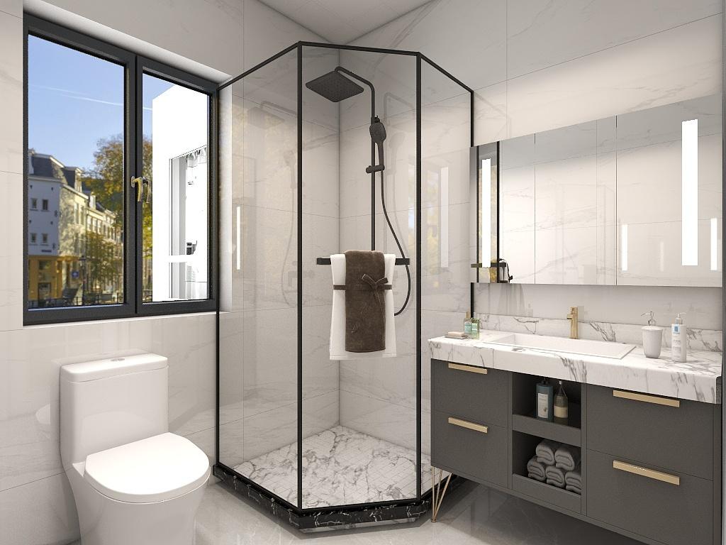 超有范儿的卫浴房间这样设计,深圳装修房间设计技巧解析!