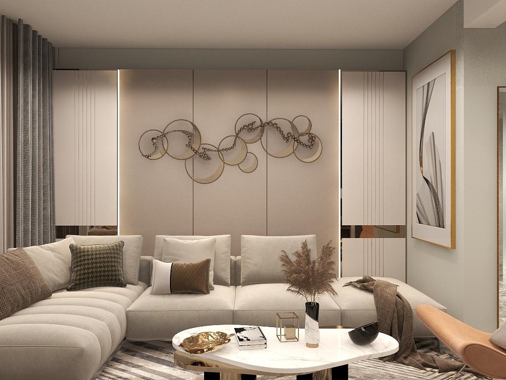 北京小戶型家居裝修,這樣設計升華空間視覺