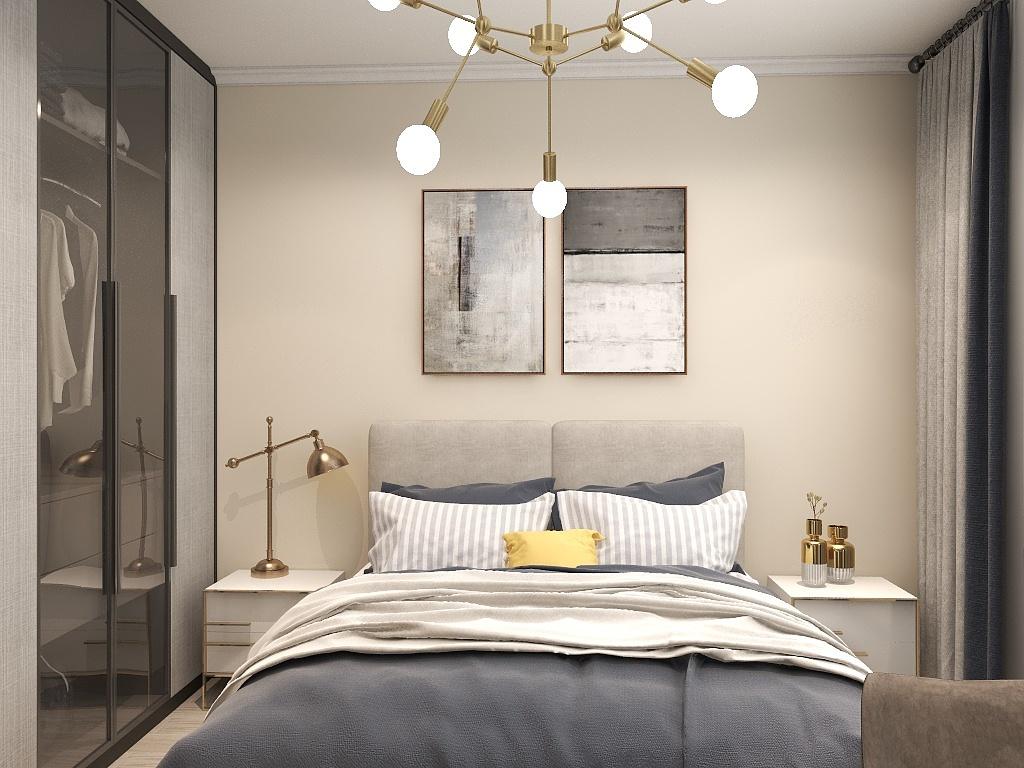 北京新居装修卧室,这样设计提升舒适感