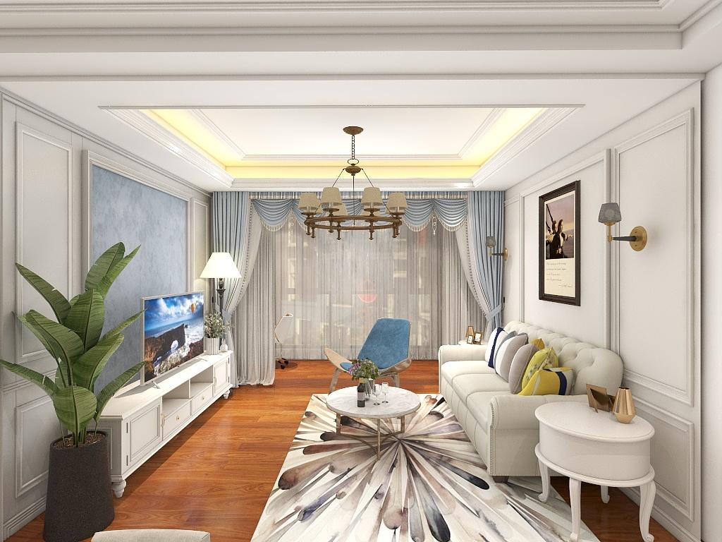 上海家裝電視背景墻這樣設計,客廳效果大不同