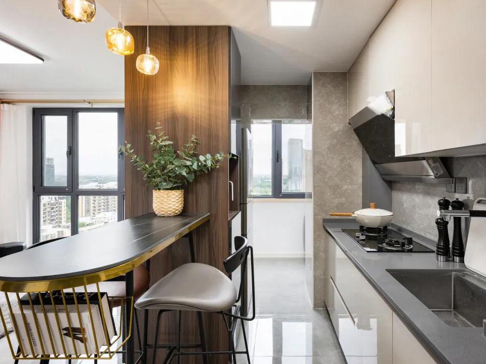 装修设计丨厨房做饭像打仗?这5套布局图解决你95%的装修问题